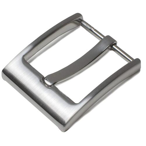 Nickel Smart Square Wide Pin Buckle