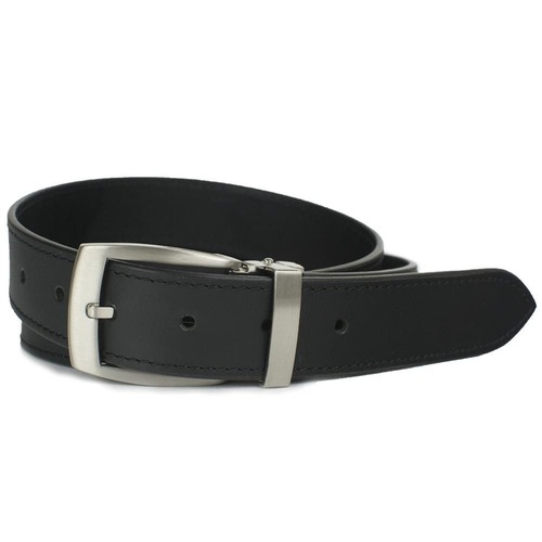 Nickel Smart® Black Balsam Knob Dress Belt